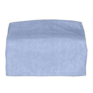 Budge Industries P3W01BG1 Blue Slate Wicker Love Seat Cover, Blue