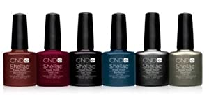 CND Shellac UV Gel Polish - FORBIDDEN COLLECTION - Full Set 6 Colours - Autumn 2013