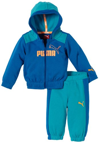 preiswert kaufen Bestellung schöne Schuhe PUMA Baby Jogginganzug ESS Infant Hoooded Jogger, Nautical Blue ...
