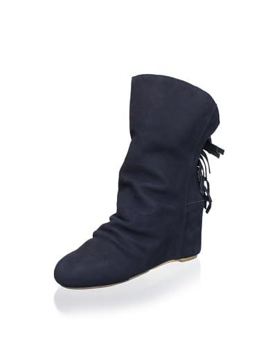 80%20 Women's Dani Fringe Boot  - Navy