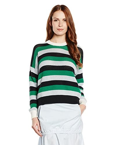 See by Chloé Pullover [Verde/Bianco/Nero]