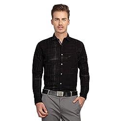 British Line Black Color Slim Fit shirt