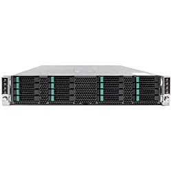 Intel System H2216XXKR2 Server Chassis 2U Single 1600W No CPU 0GHZ Retail