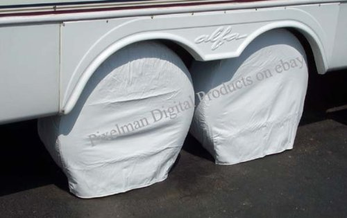PAIR Storage Vinyl Tire Covers 24