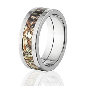 mossy oak bands mens camo wedding rings duck blind camo