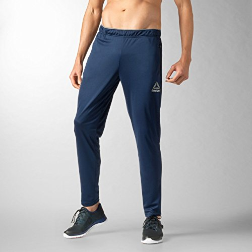 Reebok - B ES BL T Pantaloni lunghi - Uomo - Blu (Azzurro) - L