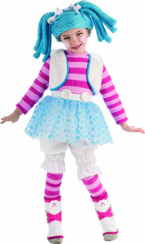 Lalaloopsy Child's Deluxe Mittens Fluff and Stuff Costume