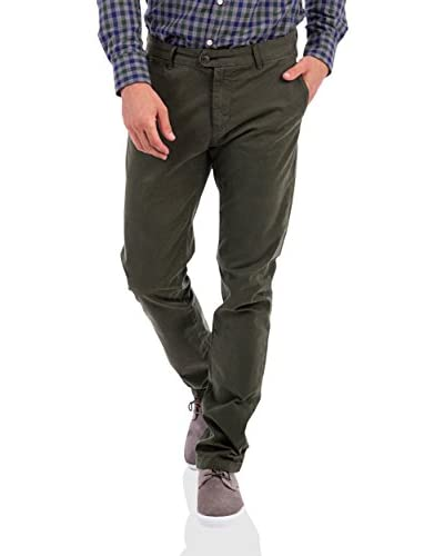 BLUE COAST YACHTING Pantalón Verde Oscuro