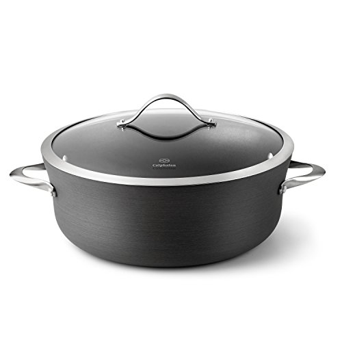 Calphalon Contemporary Hard-Anodized Aluminum Nonstick Cookware, Dutch Oven, 8 1/2-quart, Black (Valentines Cookware compare prices)