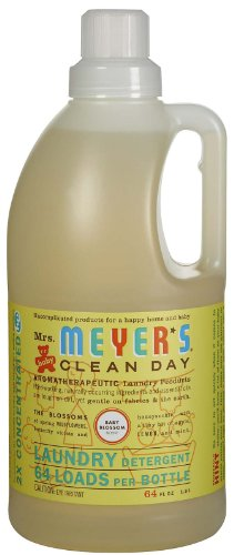 Mrs. Meyer's Clean Day Laundry Detergent - Baby Blossom - 64 oz