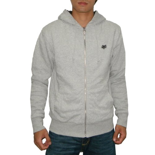 FOX Mens Heavy Weight Warm Fall / Winter Surf & Skate Zip-Up Hoodie Sweatshirt (Size: M)