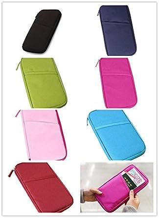 Viskey Multi Purpose Passport Bag Wallet, Pack of 7pcs