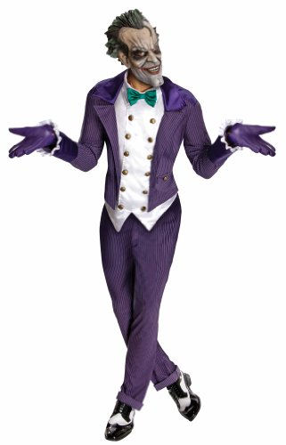 Rubie's Men's Batman Arkham City Joker Costume