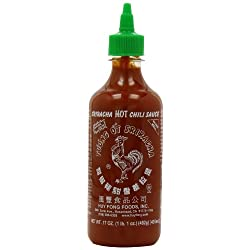 Funny product Sriracha, Hot Chili Sauce, 17 oz (482 g)
