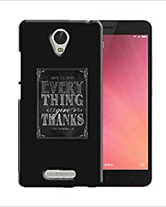 PrintFunny Designer Printed Case For XiaomiRedMiNote3