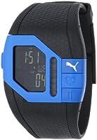 PUMA Unisex PU910391002 Cardiac Plus Blue and Black Heart Rate Monitor Watch by PUMA