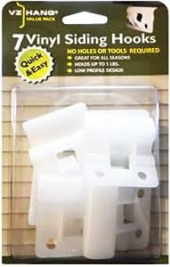 Amazon Com Vz Hang 7 Pack Vinyl Siding Hook