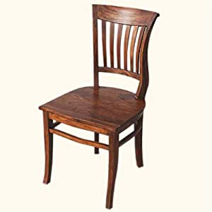 amazon com solid wood kitchen side dining chair kitchen amp dining room furniture amazon com