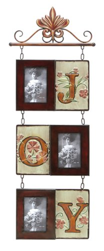 Tuscan Metal Wall Hanging Picture Photo Frame Collage