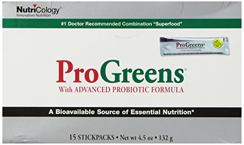 Nutricology Progreens Stick Pack, 15-Count