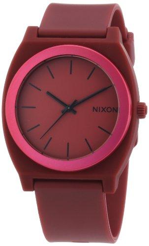 nixon-time-teller-p-a1191298-00-reloj-analogico-de-cuarzo-para-hombre-correa-de-plastico-color-rojo