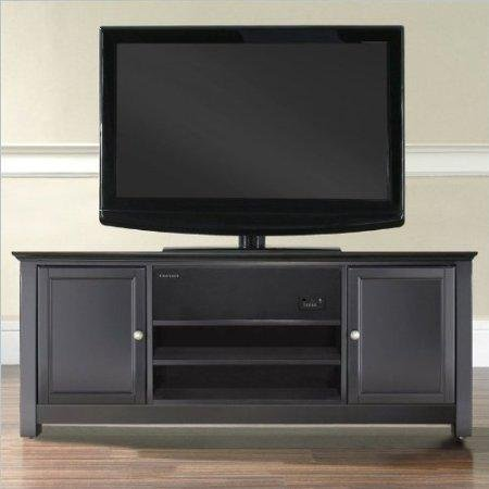 Crosley Aroundsound Black Low Profile Tv Stand