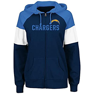 Women's Hot Route Full Zip San Diego Chargers Jacket