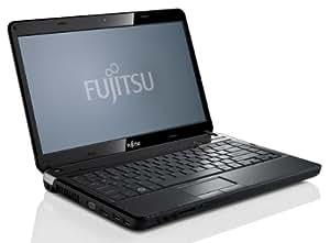 Fujitsu Lifebook LH531 35,6 cm (14,0 Zoll) Notebook (Intel Core i5 2410M, 2,3GHz, 4GB RAM, 500GB HDD, Intel HD 3000, DVD, Win 7 HP) matt schwarz