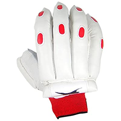 Slazenger Academy Batting Glove, Men's (White)