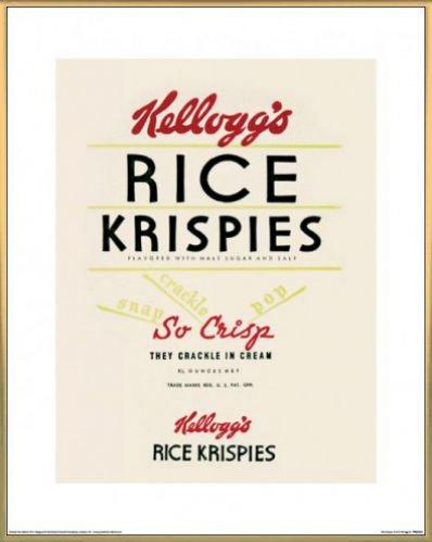 marcas-poster-impresion-artistica-con-marco-plastico-kelloggs-rice-krispies-50-x-40cm