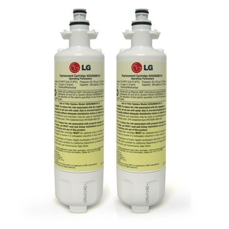 LG Refrigerator Water Filter (ADQ36006101, LT700P), 2-P