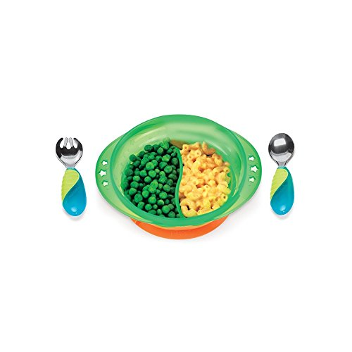 Munchkin Mighty Grip Suction Bowl Dining Set Assorted front-327365