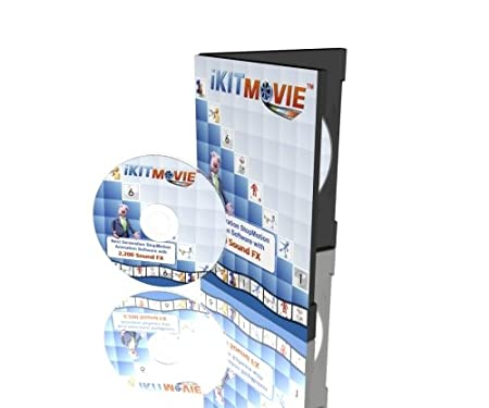 Stop Motion Animation Software - iKITMovie DVD