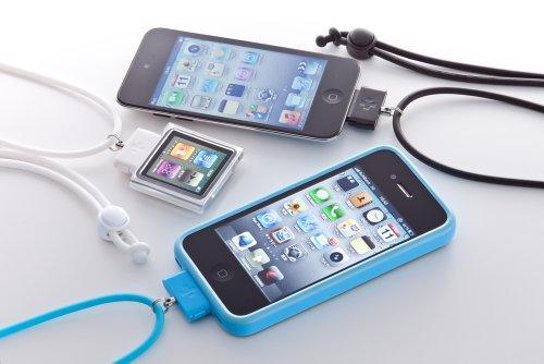 iPhoneを首にさげて持ち運べる「DockStrap Neo for iPhone」