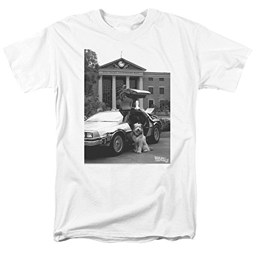 Back To The Future Ii Einstein Short Sleeve