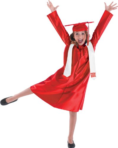[HSM 3 Cap and Gown Classic Child Costume Size 4-6 Small] (Hsm Costumes)