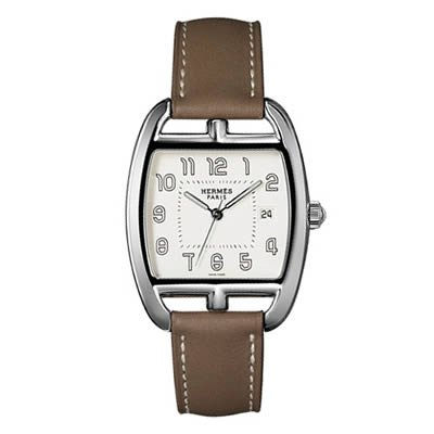 Hermes Tonneau GM Ladies Quartz Watch - 035029WW00