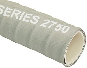 Unisource 2750 White Rubber Suction/Discharge Hose