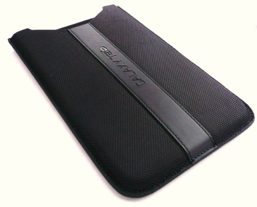 Samsung Galaxy Tab Protective Poly-Urethane Slide Release Sleeve - Black (ET-GTABBSSGSTA)