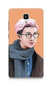 Amez designer printed 3d premium high quality back case cover for Xiaomi Mi 4 (Handsome Man)