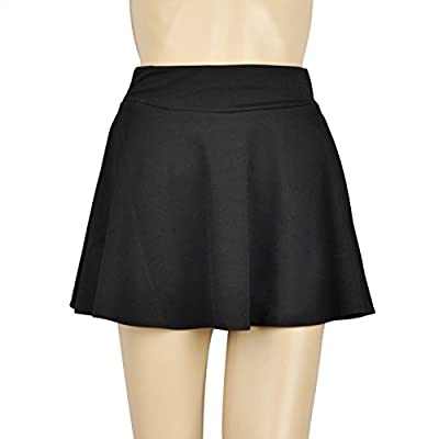 TopTie Flare Skater Skirt With Comfy Waist Band XS