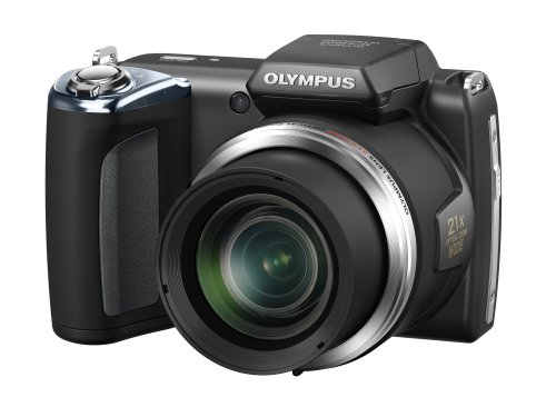 Olympus SP-620UZ Digital Ultra Zoom Camera - Black (16MP, 21x Wide Optical Zoom) 3 inch LCD