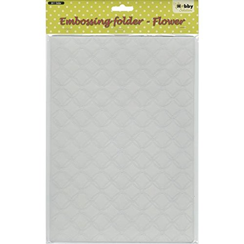 Ecstasy Crafts Nellie's Choice Embossing Folder, A4-Gauze