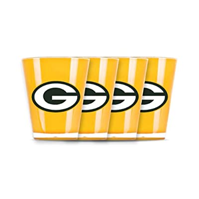 NFL Green Bay Packers Shot Glass Set (4-Piece)