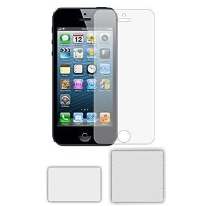 6 x Membrane Pellicola Protettiva per Apple iPhone 5 / 5G / 5GS - Crystal Clear (Invisible), Antigraffio Protezione Schermo, Confezione Originale ed accessori
