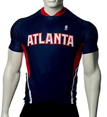 NBA Atlanta Hawks Mens Cycling Jersey by VOmax