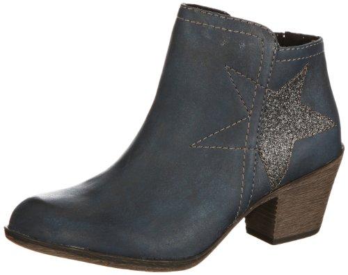 Marco Tozzi 2-2-25319-21 Boots Womens Blue Blau (NAVY ANT.COMB# 968) Size: 4 (37 EU)