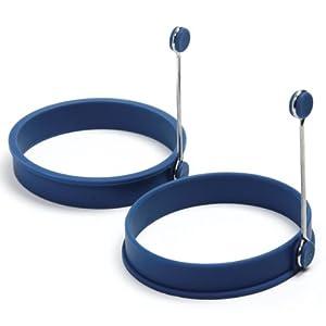 Norpro Silicone Egg Pancake Ring Round