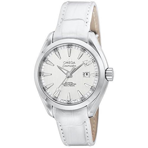 [オメガ]OMEGA 腕時計 シーマスターアクアテラ ホワイト文字盤 コーアクシャル自動巻 アリゲーター革ベルト 150M防水 デイト 231.13.34.20.04.001 レディース 【並行輸入品】