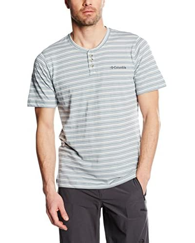 Columbia T-Shirt Manica Corta Lookout Point Henley [Turchese]